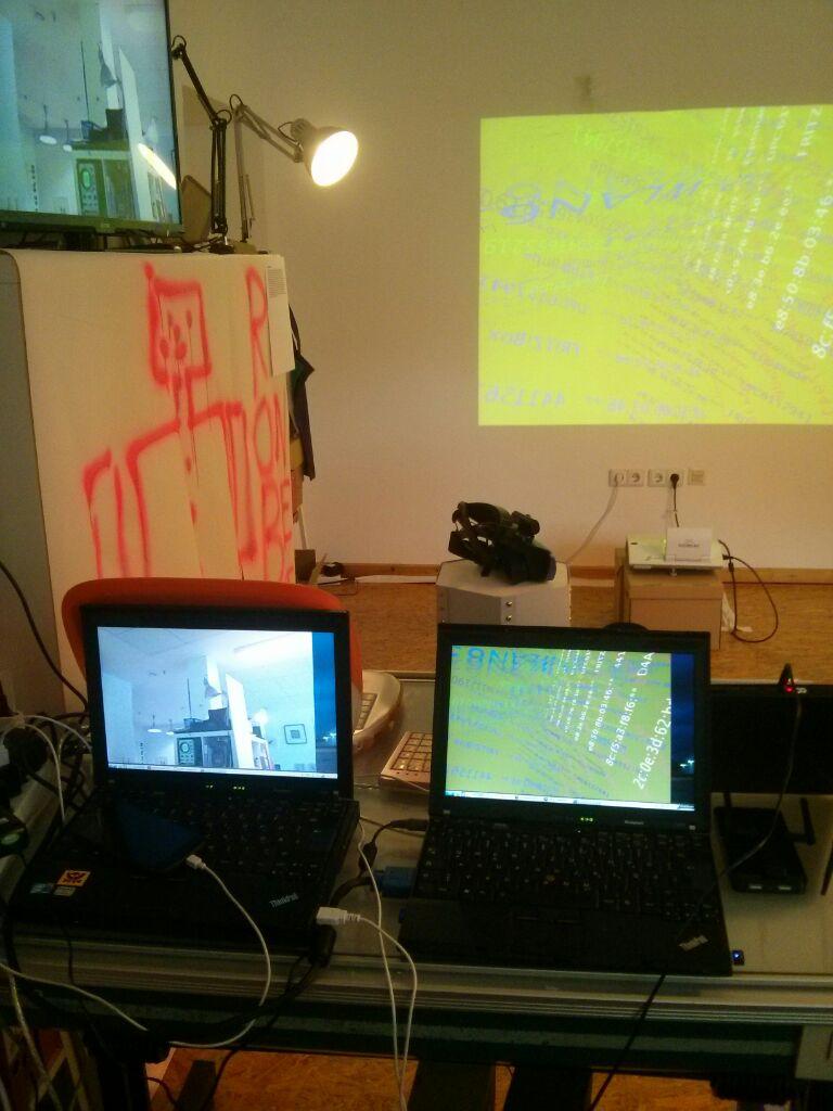 Das Backend der beiden Installationen