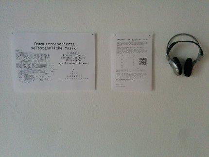 So wurden die Audio-Exponate präsentiert.